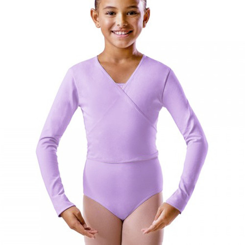 Dance First Lilac X-Over Ballet Wrap