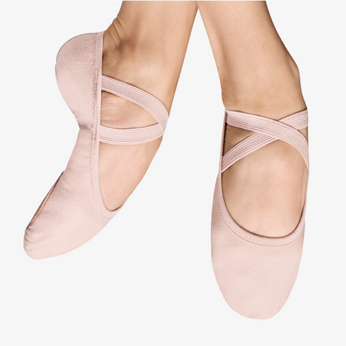 Bloch Childrens Performa Stretch Canvas Ballet Shoes