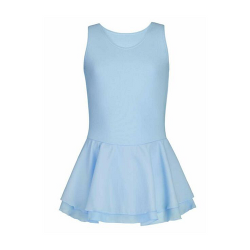 Vacani School of Dance Double Skirted Pale Blue Leotard