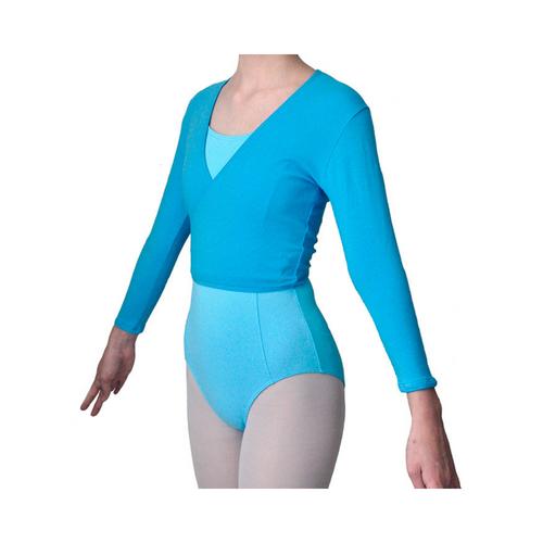 Vacani School of Dance Ballet Wrap Aqua