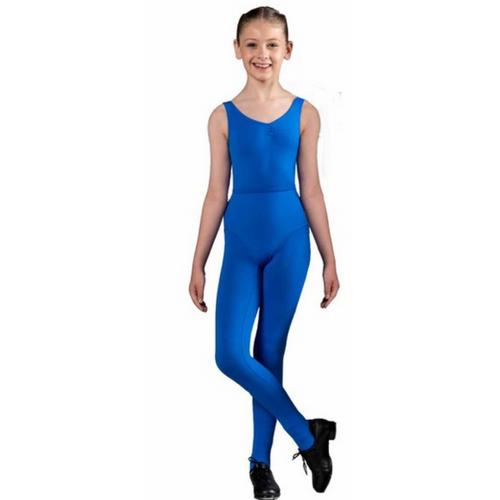 Julie Sianne Theatre Arts Royal Blue Stirrup Leggings