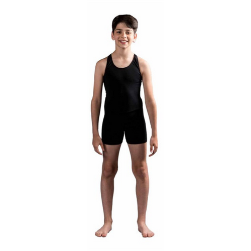 Julie Sianne Theatre Arts Boys Black Unitard