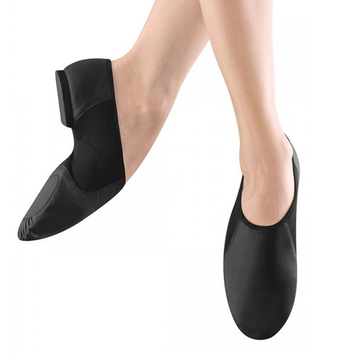 Summerscales Performing Arts Neo-Flex Leather Jazz Shoe with Rubber Sole (Slip On Split Sole)