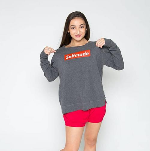 Selfmade 365 Crew  (Tri Blend Fleece Sweatshirt)