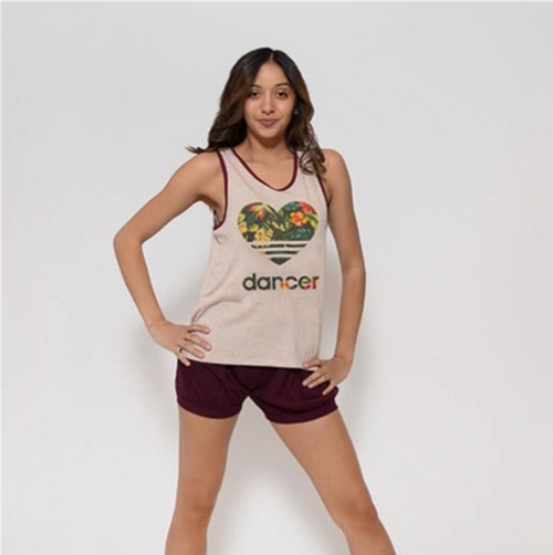 Heart Dancer Floral Rebel (Tank)