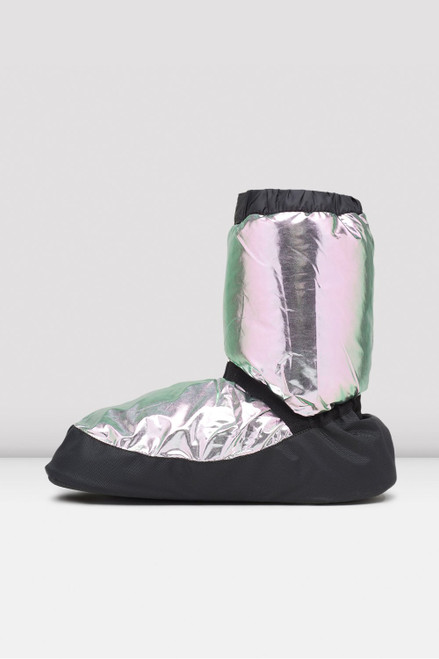 Bloch Collection Metallic Warm Up Booties
