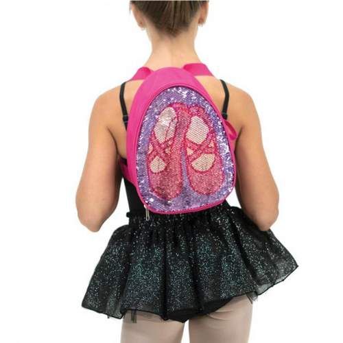 Capezio Reversibile Glitter Backpack