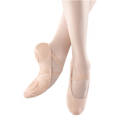 Bloch Pro Arch Canvas Ballet Shoe