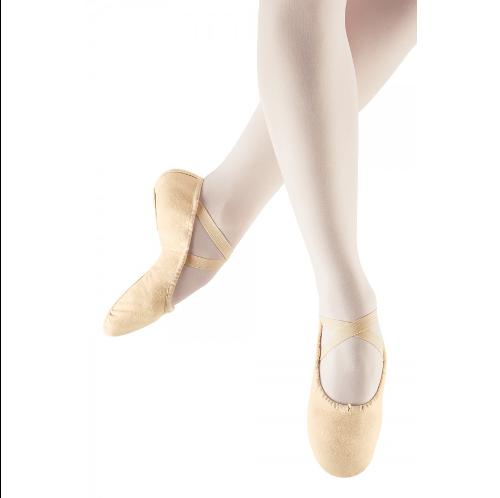 Bloch Leo Company Canvas Ballet Shoe