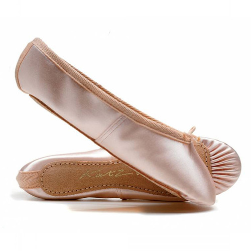 Katz Full Sole Satin Ballet Shoe