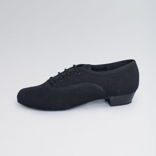 1st Position Canvas Low Heel Oxford Suede Sole Character Shoe