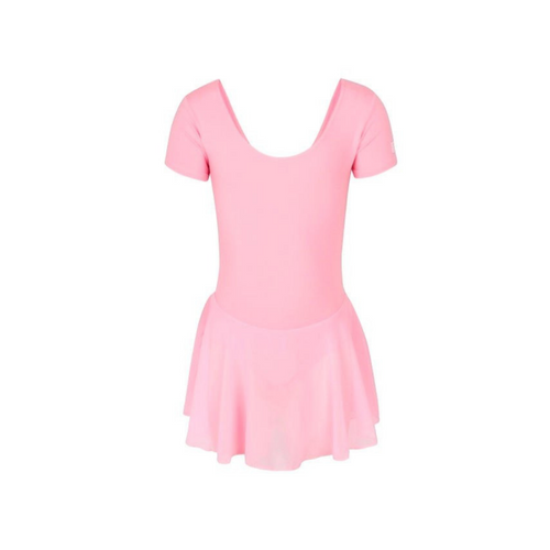 Joanne Ward Freya Pink Skirted Leotard