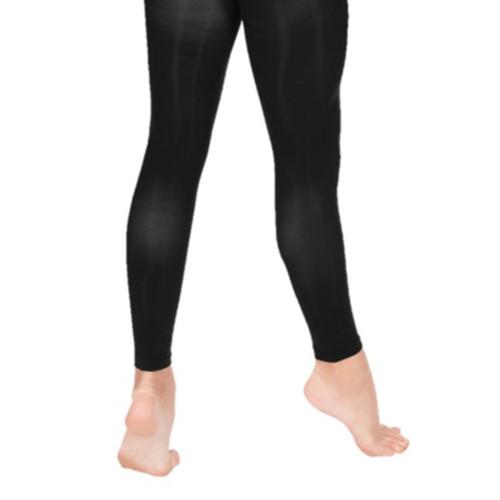 Susan Robinson Black Footless Tights