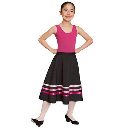 Rebecca Jackson Dance Academy Character Skirt (Pink Ribbons)