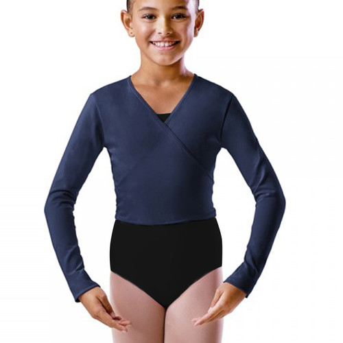 Rebecca Jackson Dance Academy Navy Cotton Ballet Wrap