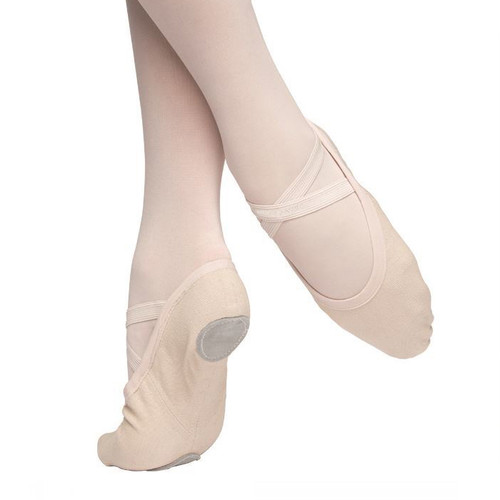 Kidz Got Talent Vivante 4 Way Stretch Canvas Ballet Shoe