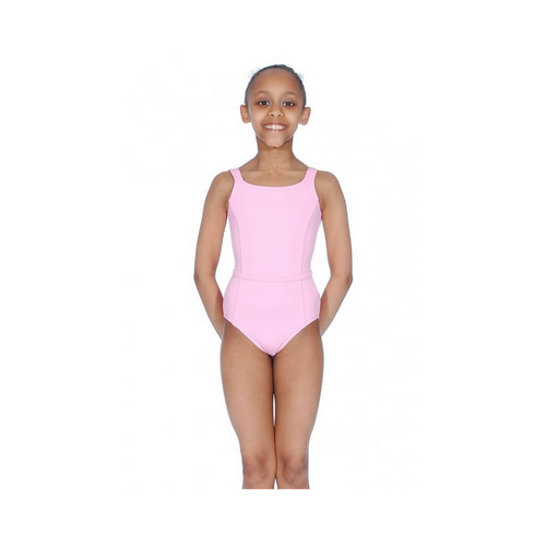 Karen Blackburn Dance Academy Basic Megan Pink Tank Leotard