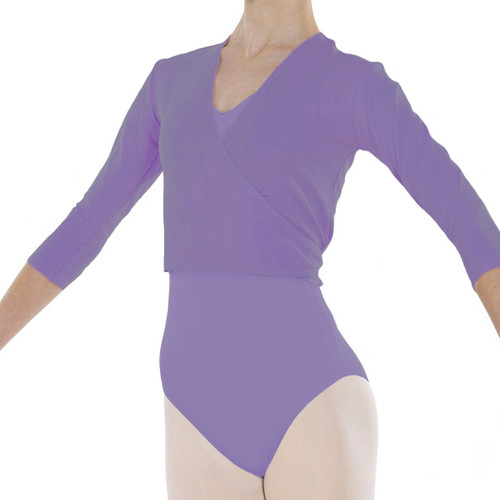 Karen Blackburn Dance Academy Cardigan Lavender Cotton Freed Ballet Wrap