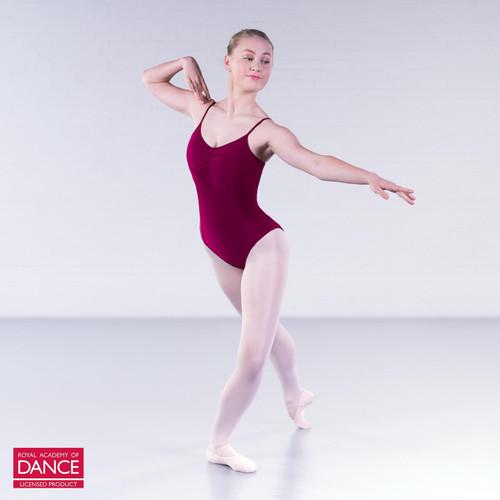 Karen Blackburn Dance Academy Basic Grace Burgundy Camisole Leotard