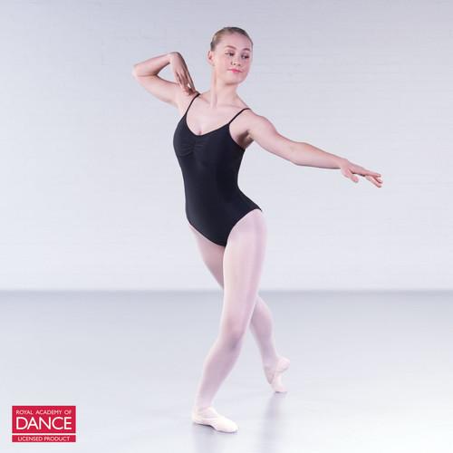 Karen Blackburn Dance Academy Black Grace Camisole Leotard