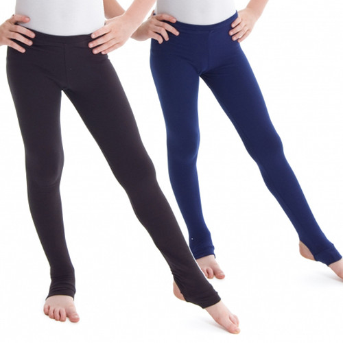 Summerscales Performing Arts Navy Boys Stirrup Leggings
