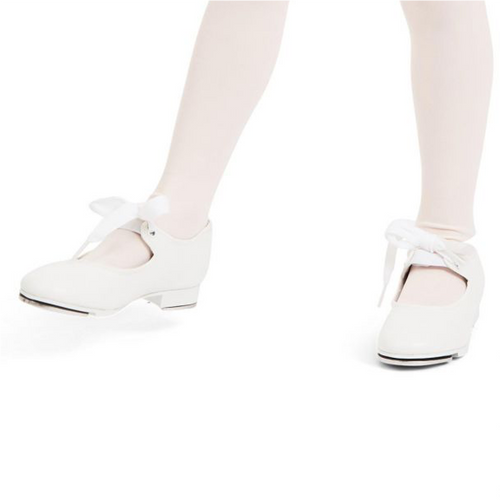 Summerscales Performing Arts White Shuffle Tap Shoe