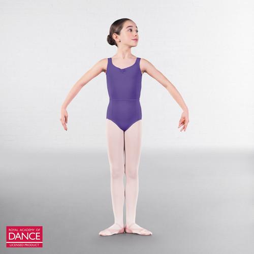 Allegro Performers Academy Anna Lavender Tank Leotard
