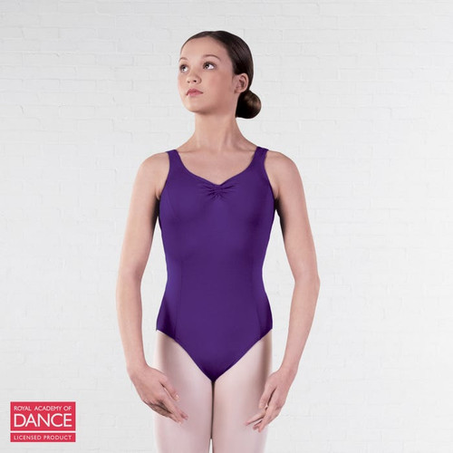 Allegro Performers Academy Purple Tank Leotard