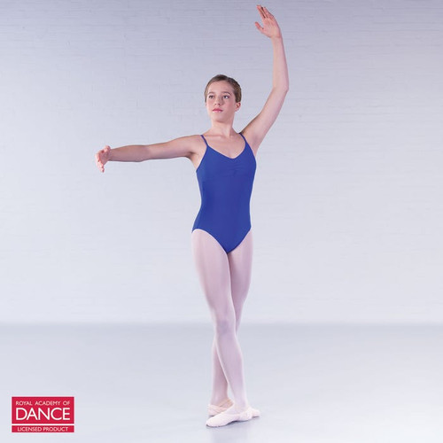 Allegro Performers Academy Blue Camisole Leotard
