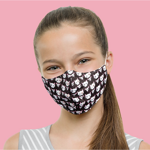 Bloch B-Safe Child Print Lanyard Face Mask