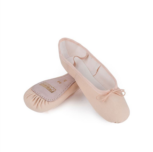 Freed Aspire Full Suede Sole Canvas Ballet Shoe