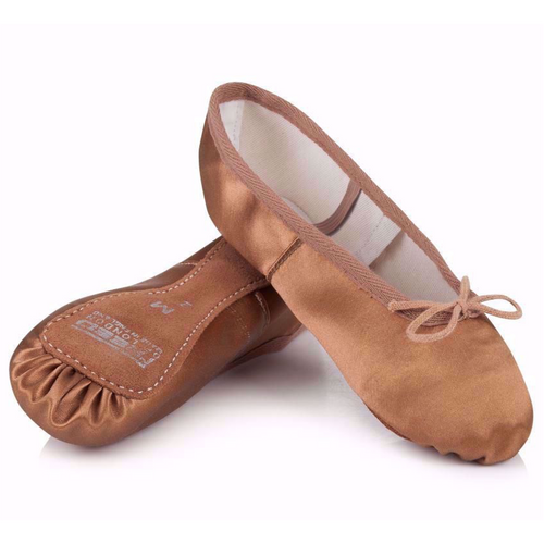 Freed Aspire Full Suede Sole Satin Ballet Shoe