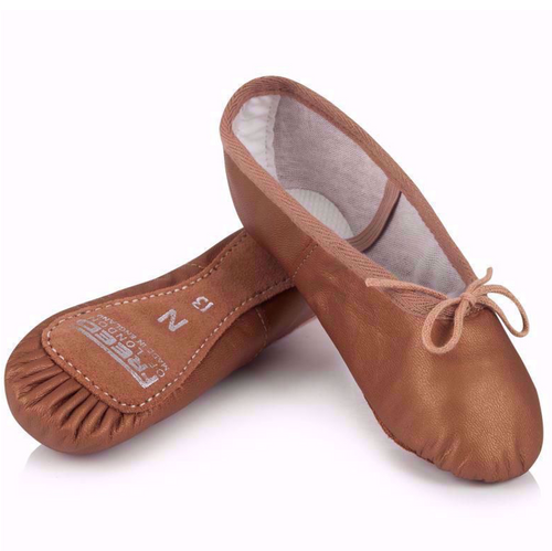 Freed Aspire Full Suede Sole Lather Ballet Shoe