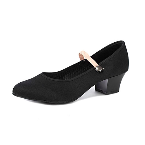 Freed Canvas RAD Cuban Heel Character Shoe