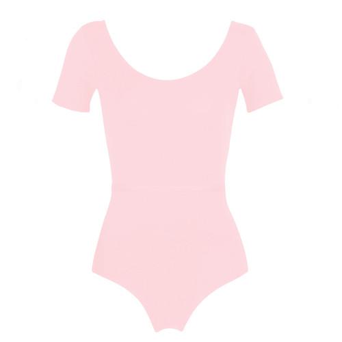 Whitton Centre Dance Academy Pink Chloe Short Sleeve Leotard