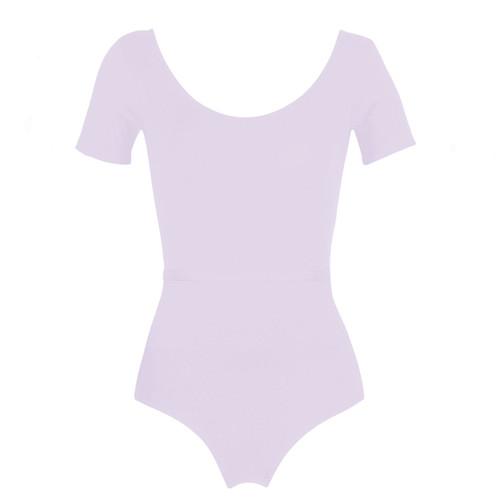 Whitton Centre Dance Academy Lilac Chloe Short Sleeve Leotard