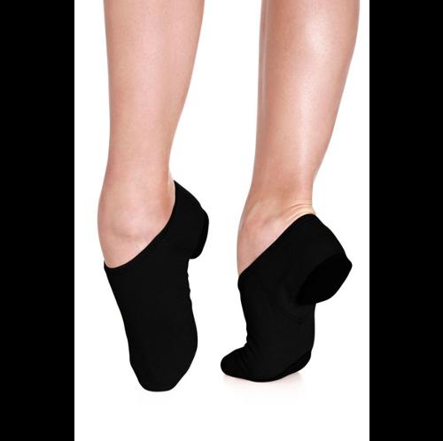 Karen Blackburn Dance Academy Canvas Black Jazz Shoe
