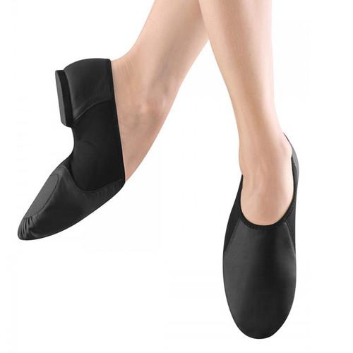 Bloch Neo-Flex Leather Jazz Shoe with Rubber Sole (Slip On Split Sole)