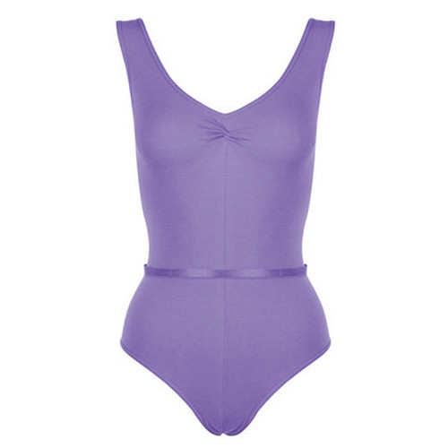 Freed Faith Ruche Fronted Tank Leotard Ad