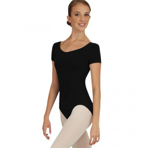 Capezio Princess Seam Short Sleeve Leotard