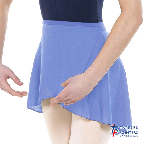 Tappers & Pointers Wrap-Over Poly-Crepe Skirt Jr