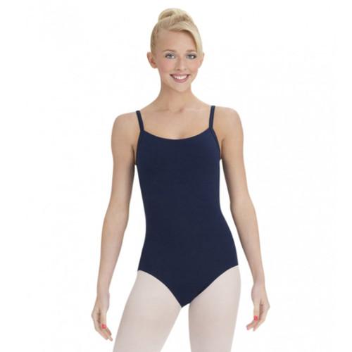 Susan Robinson School of Ballet Navy Camisole Leotard With Bra Tek