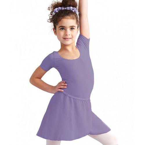 Flipside Dark Lavender Chiffon Wrap Skirt