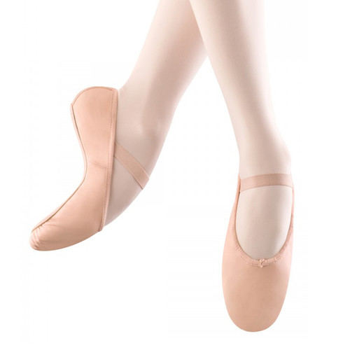The Performance Academy Pink Full Sole Leather Ballet Shoe