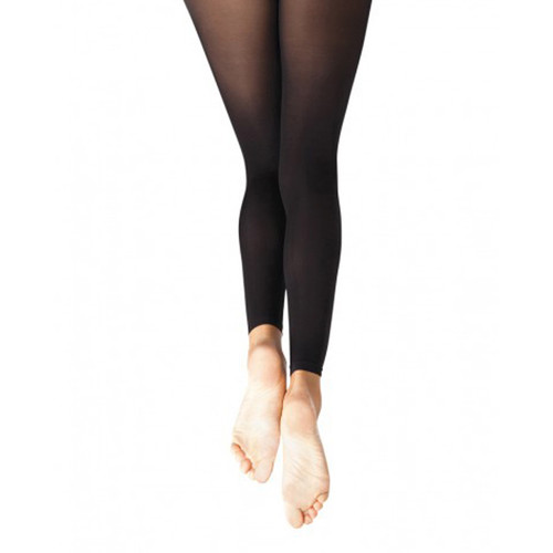 Flipside Ultra Soft Footless Black Tight