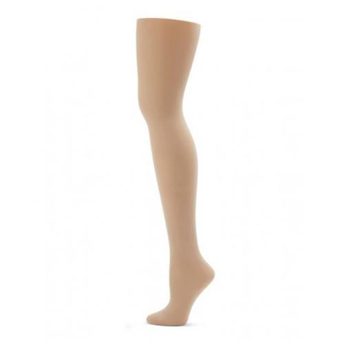 907aee699b483 Capezio Ultra Soft Self Knit Waistband Transition Tights Child - 4 dance