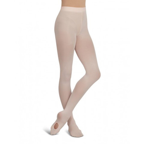 Capezio Ultra Soft Self Knit Waist Band Transition Tight Adult