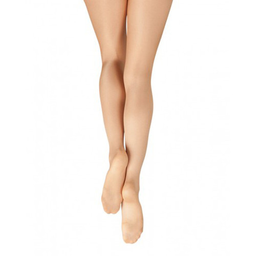 Capezio Ultra Shimmery Footed Tight Child