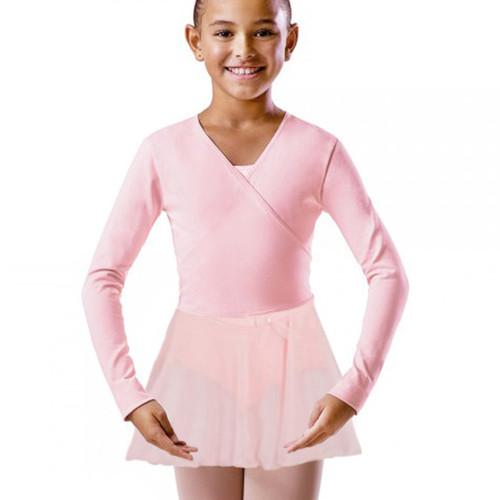 KARSD Pink X-Over Cotton Ballet Wrap