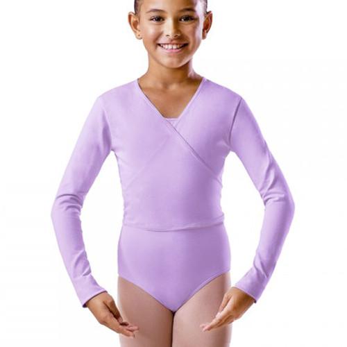 KARSD Lilac X-Over Ballet Wrap